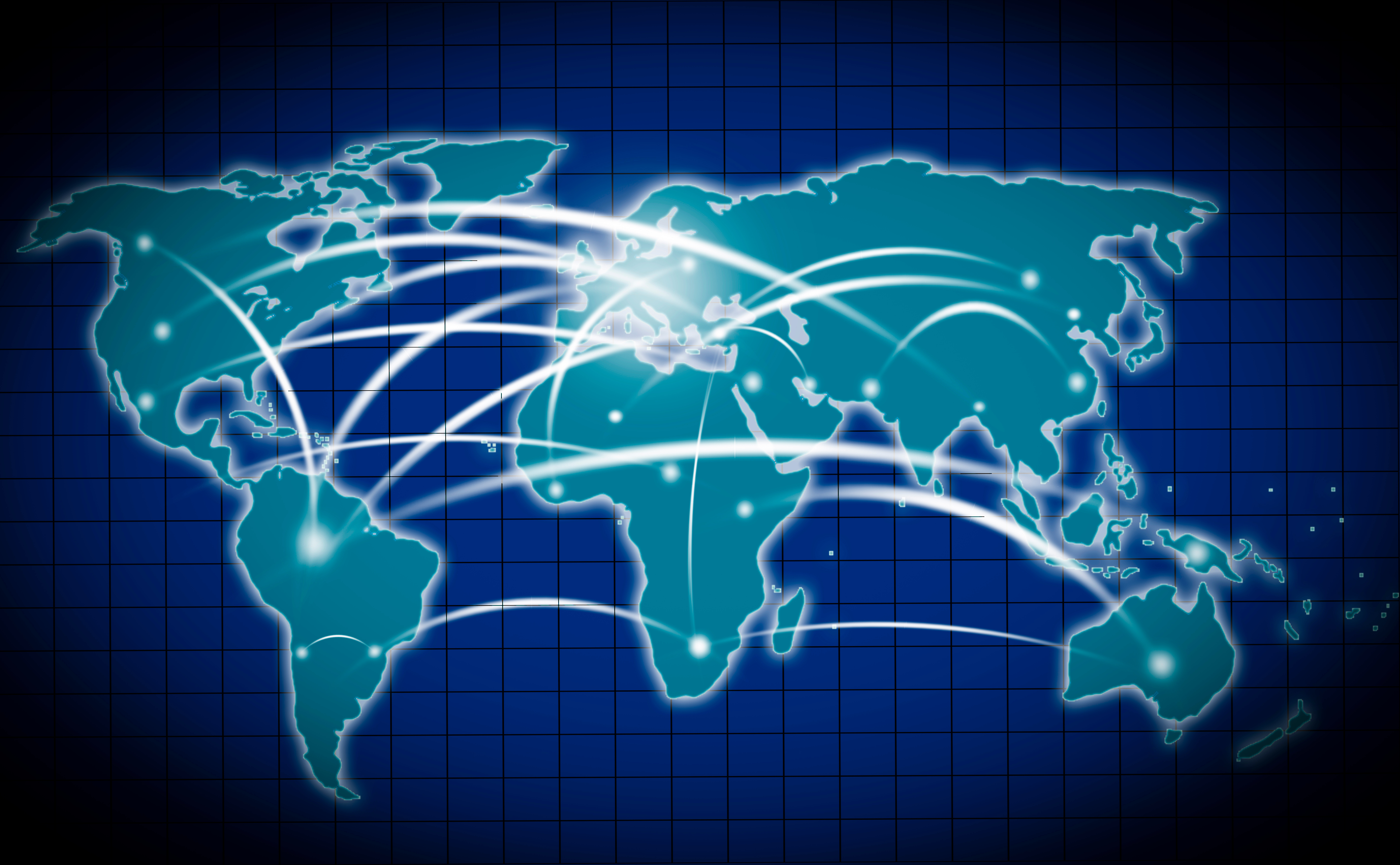 World Connection Map